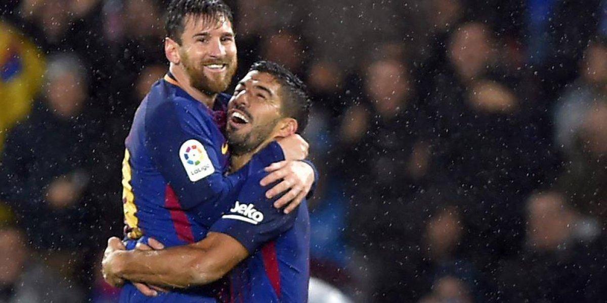 Barcelona gana a lo grande ante la Real Sociedad
