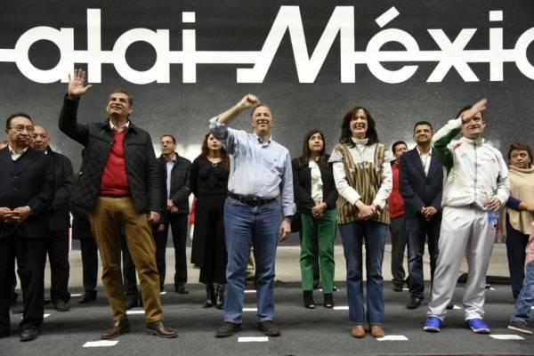 José Antonio Meade estuvo en el Frontón de la CDMX.