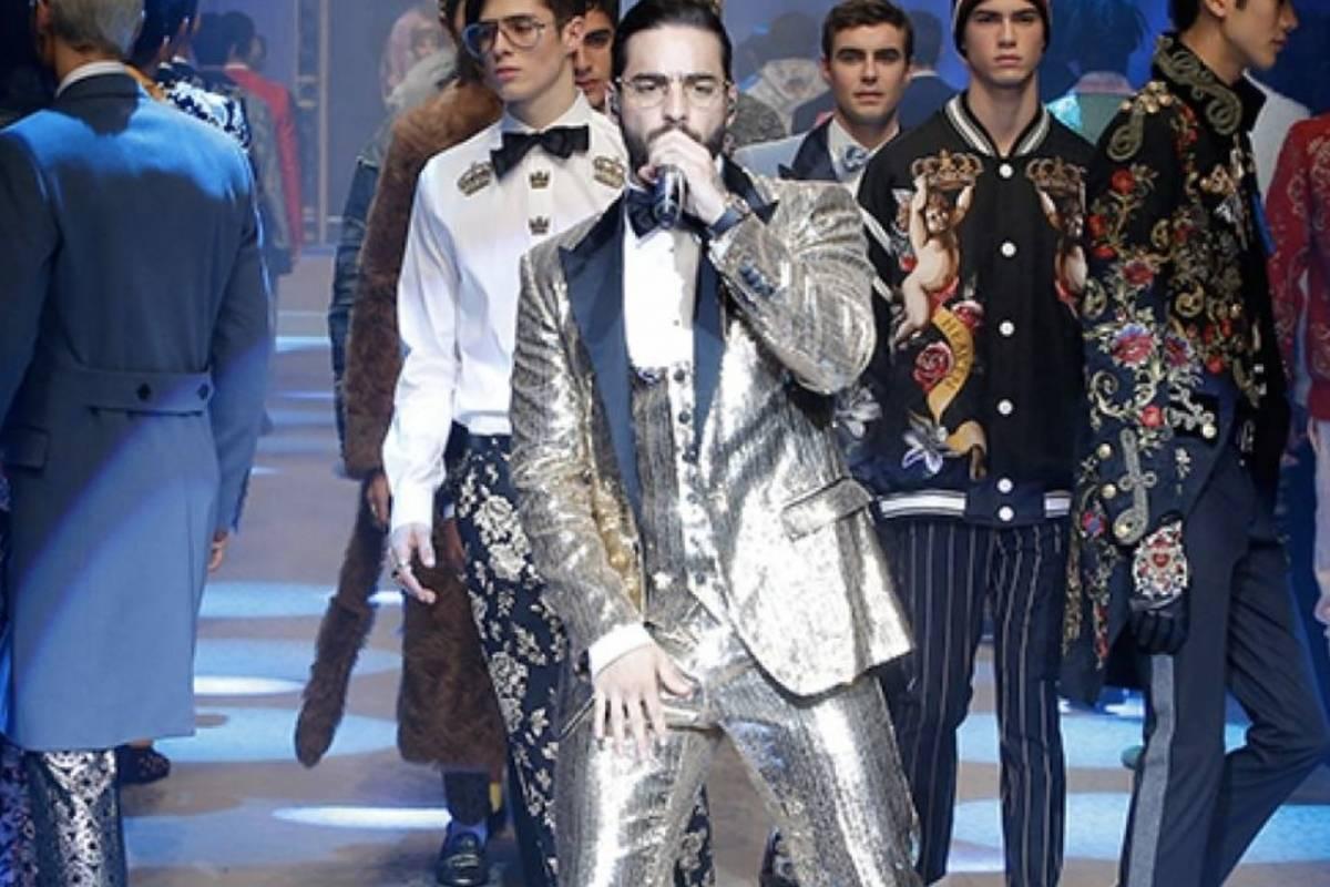 El divertido error de Maluma al interpretar su propia canción en su