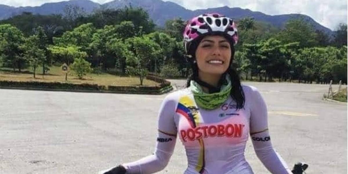 La ciclista que llamó la atención de Teófilo Gutiérrez con su belleza