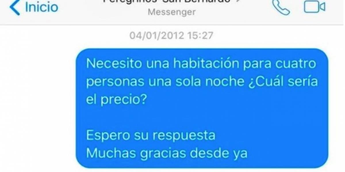 Argentino pregunta por Facebook el precio de alojamiento en hotel y le responden ¡6 años después!: mira el épico troleo que mandó de vuelta