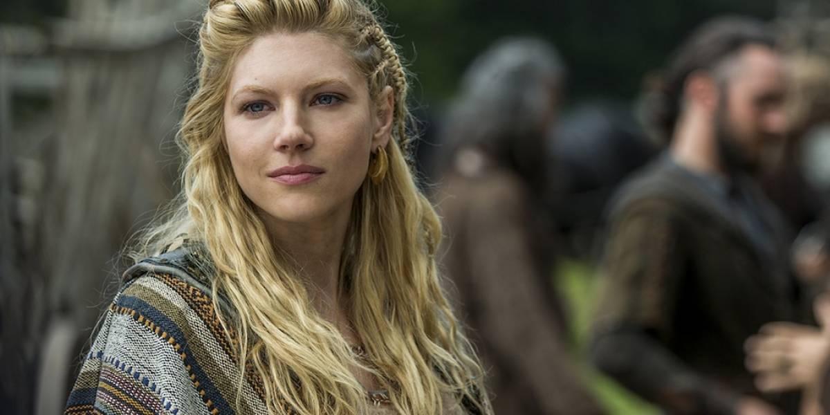 """""""Chileno bay"""": Las fotos de Lagertha de """"Vikingos"""" que hicieron pensar que la actriz estaba en nuestro país"""