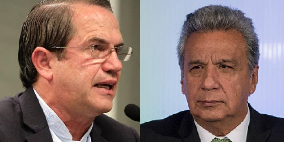 """Ricardo Patiño dijo que Lenín Moreno habla """"pendejadas"""""""
