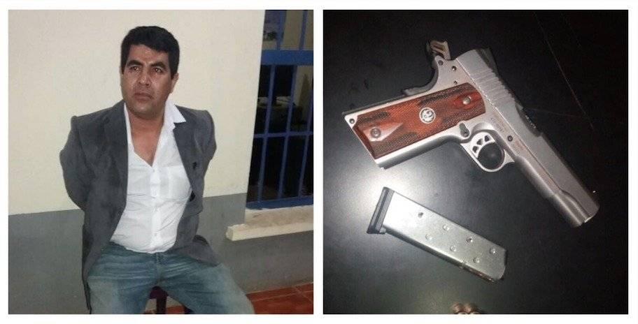 Capturan a alcalde de Rabinal, Elbin Steyman Herrera Álvarez