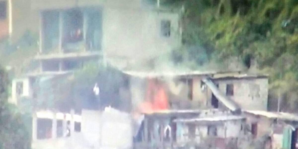 Bomberos reportan conato de incendio estructural en el sector Santa Bárbara
