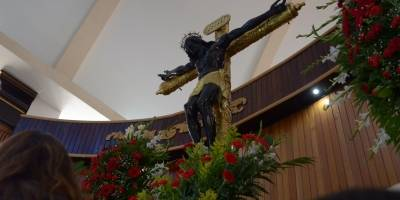 Cristo Negro en Esquipulitas