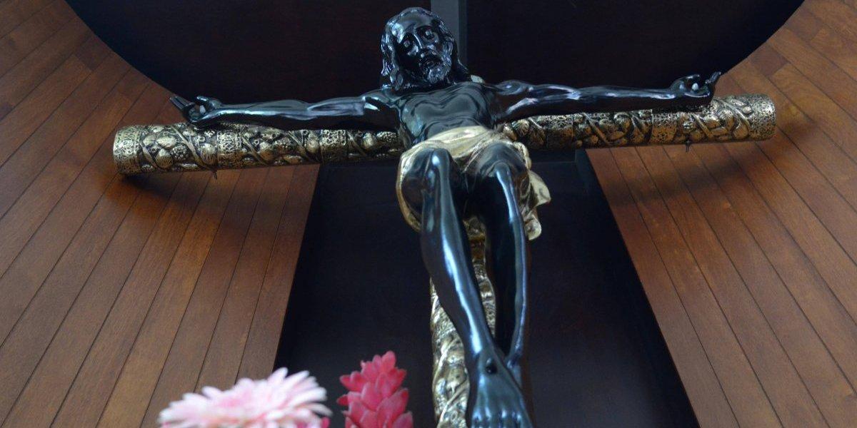 """EN IMÁGENES. Todo listo en Esquipulitas para la celebración del """"Cristo Negro"""""""