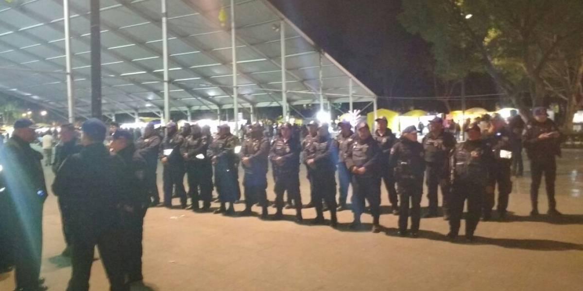 Al menos 12 detenidos tras operativo de seguridad en Iztapalapa