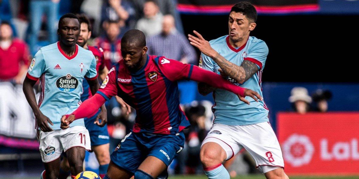 Jugador del Levante denunció que recibió insultos racistas