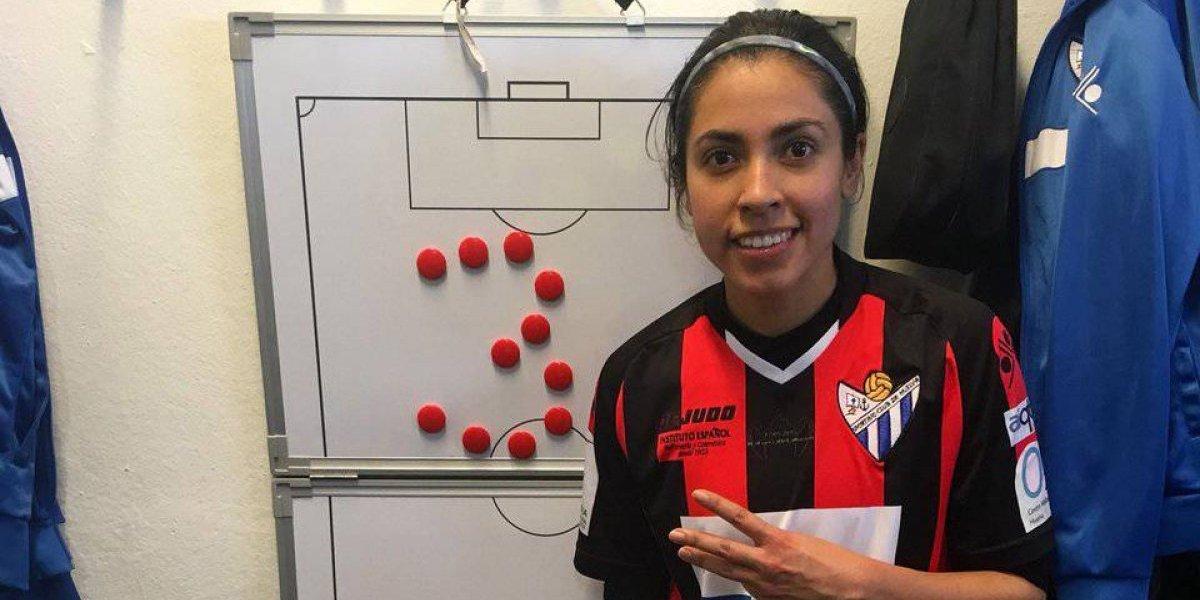 Ana Lucía Martínez hace una emotiva dedicatoria
