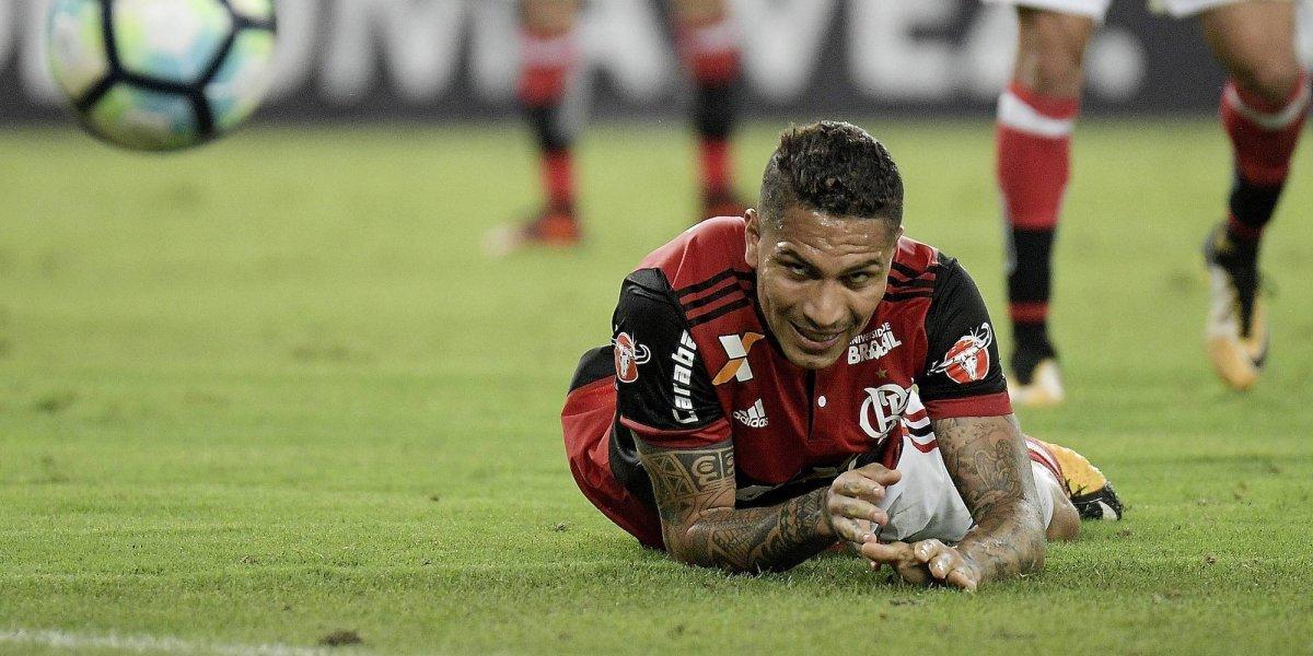 Flamengo cancela contrato de Paolo Guerrero
