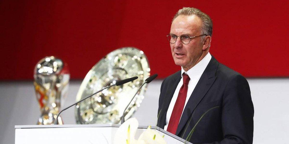 Rummenigge acepta que supremacía del Bayern quita emoción a la Bundesliga