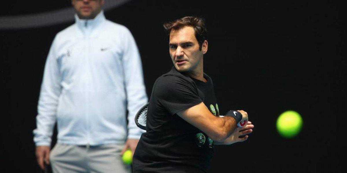 Federer no se ve como favorito para el Abierto de Australia