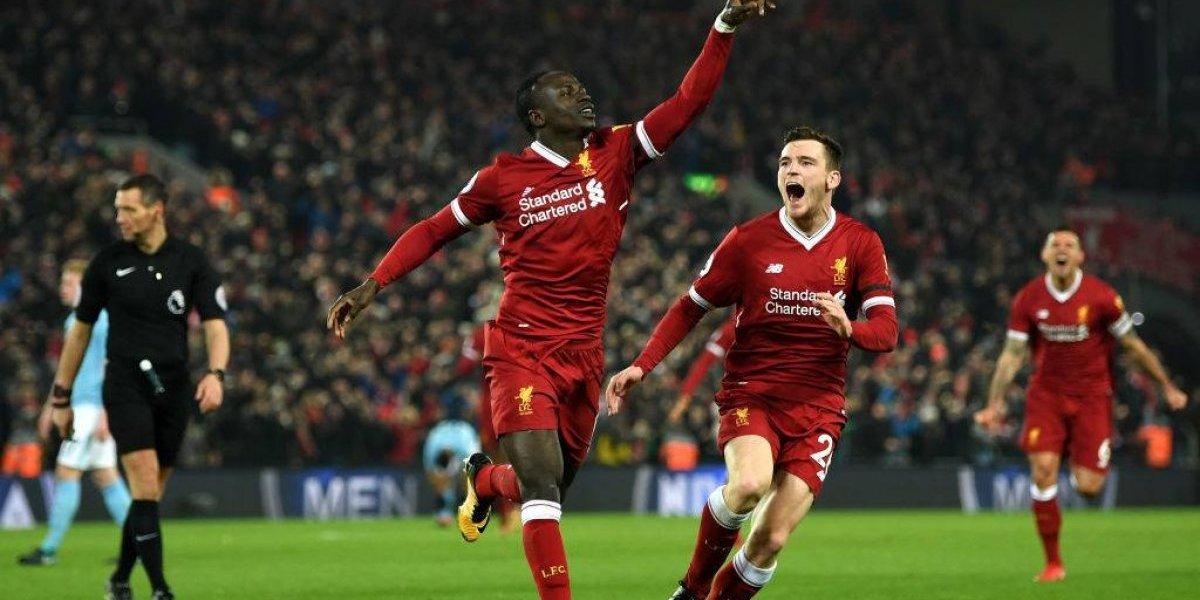 Perdió con espectáculo: Manchester City fue tumbado por Liverpool en la Premier League