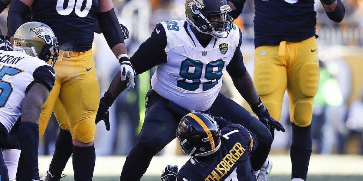 Jaguares sorprenden y eliminan a Ben Roethlisberger y sus Steelers