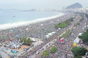 Fervor en Copacabana