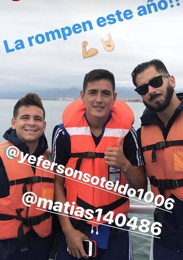 La U se relaja en La Serena / Instagram