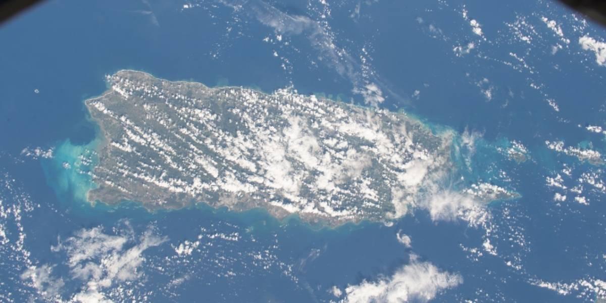 En fotos: Así se ve Puerto Rico desde el espacio