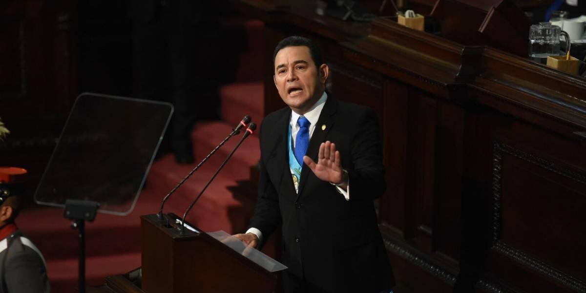 """Como """"pez en el agua"""", así presentó Morales su segundo informe en el Congreso"""