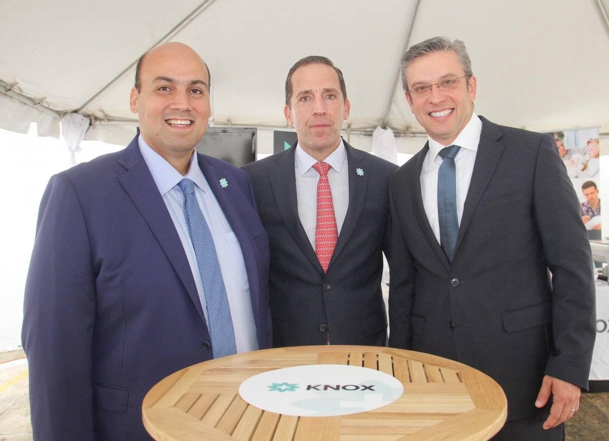 Presidente junto a exgobernador García Padilla