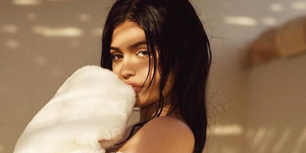 Kylie Jenner engordó 10 kilos por su embarazo y se siente desesperada