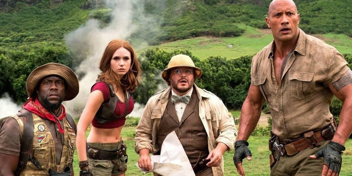 """La nueva película de """"Jumanji"""" lidera la taquilla norteamericana"""