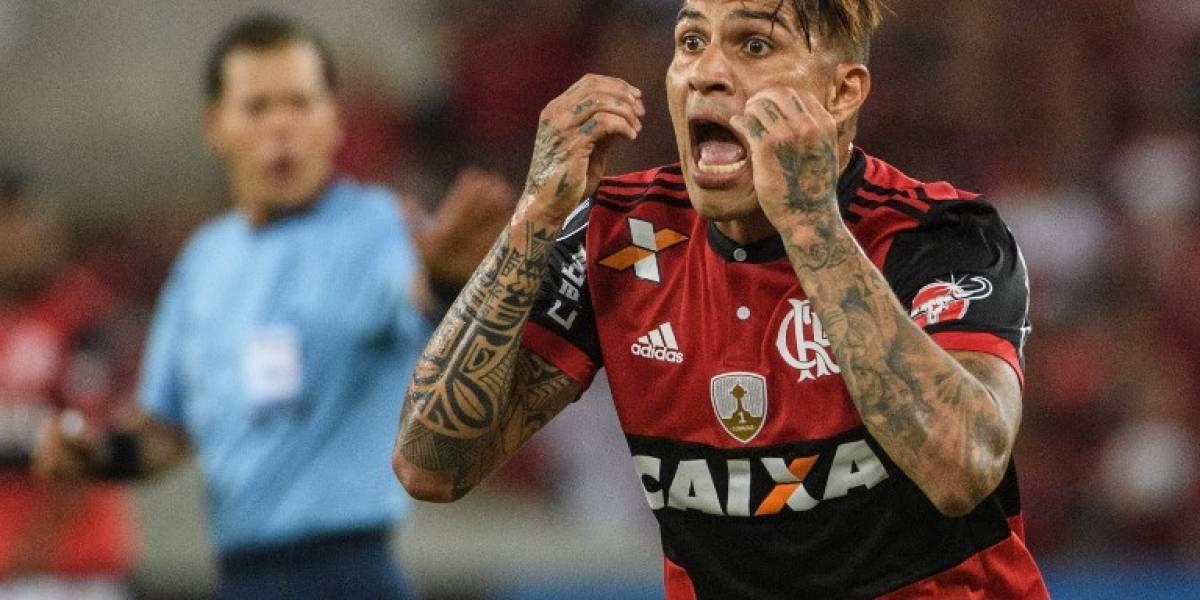 El Flamengo toma una decisión sobre el contrato del suspendido Paolo Guerrero