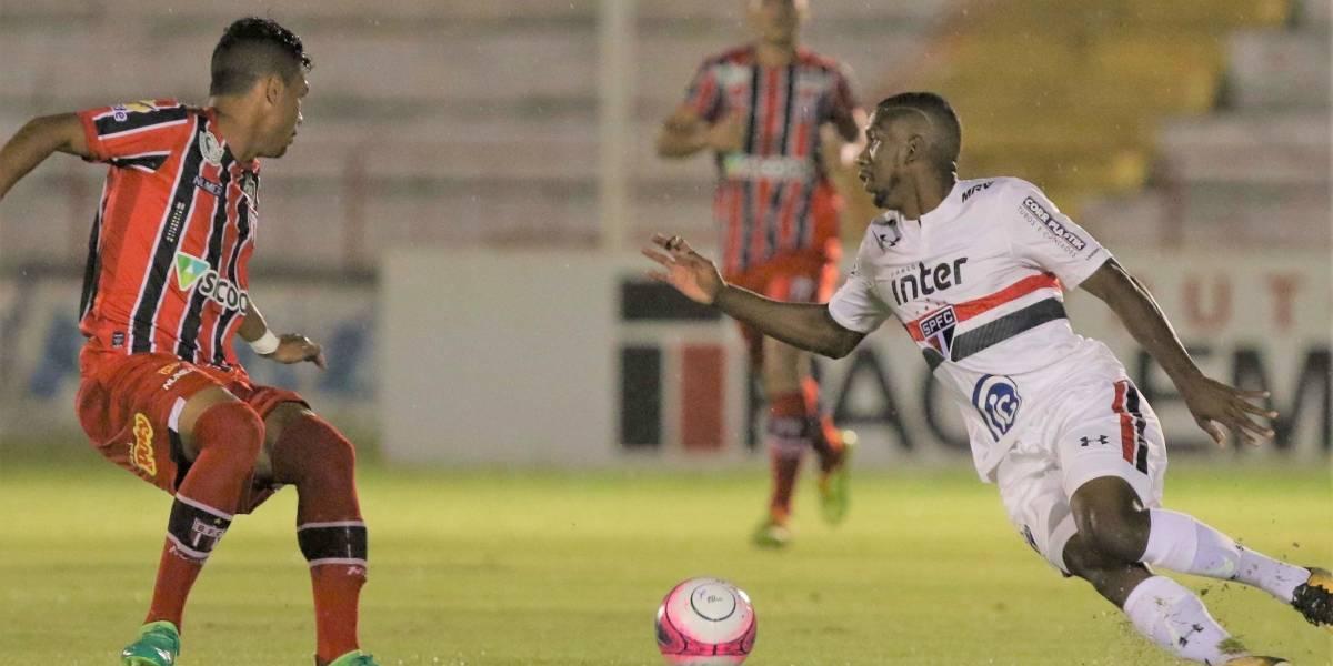 Em Ribeirão Preto, São Paulo elimina o Botafogo-SP e avança às oitavas da Copa SP