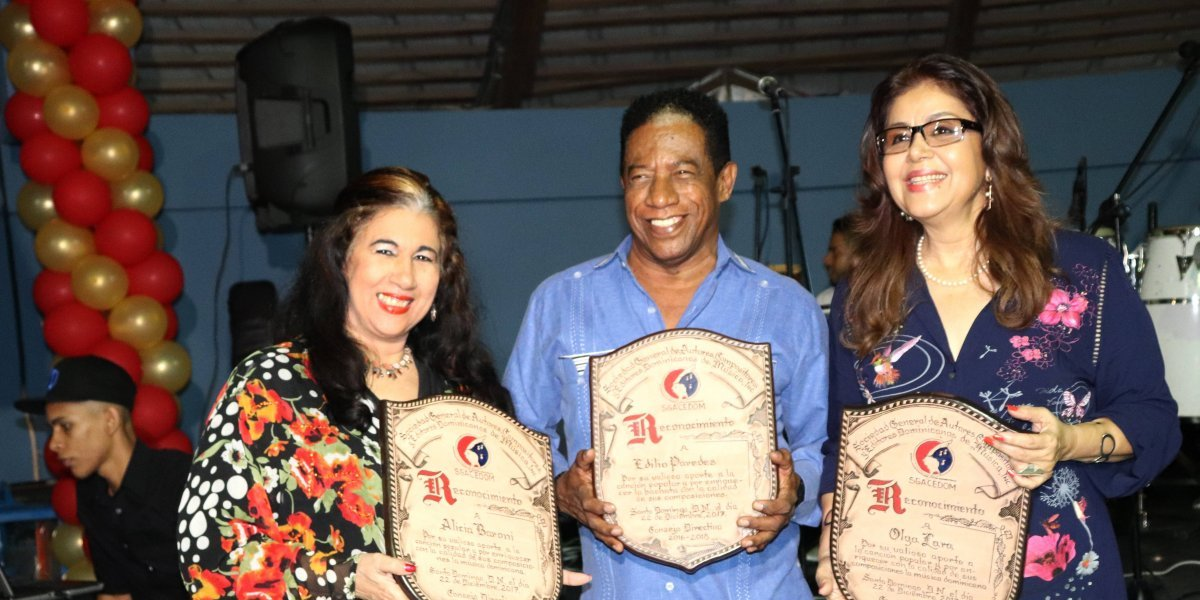 SGACEDOM rindió tributo a autores criollos
