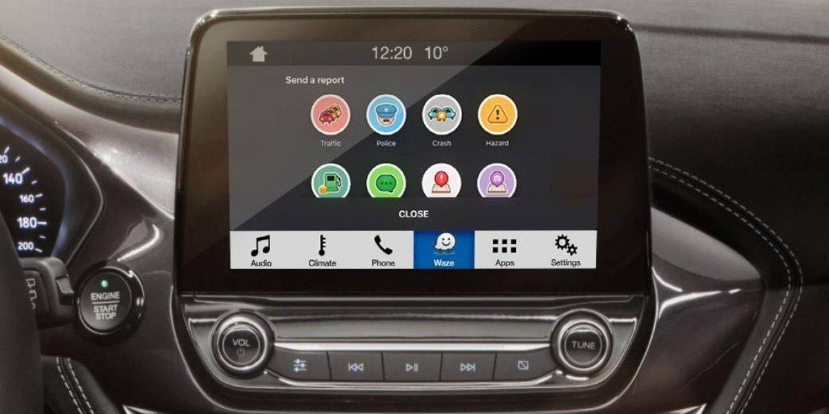 Ford integrará Waze a sus vehículos