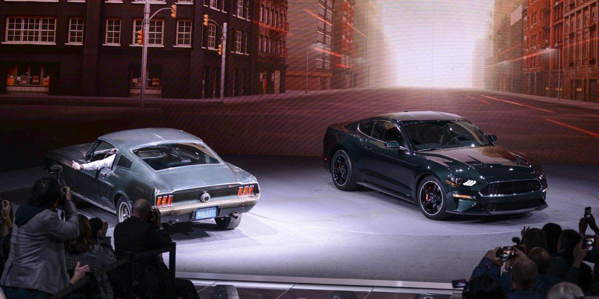 Ford revela el nuevo Mustang Bullitt en el Auto Show de Detroit