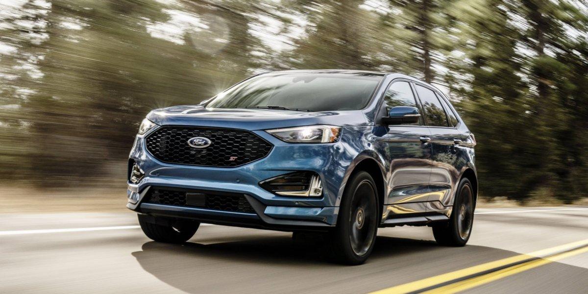 Llega la SUV Edge de Ford al Auto Show de Detroit
