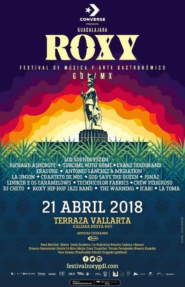 Poster del festival tapatío.