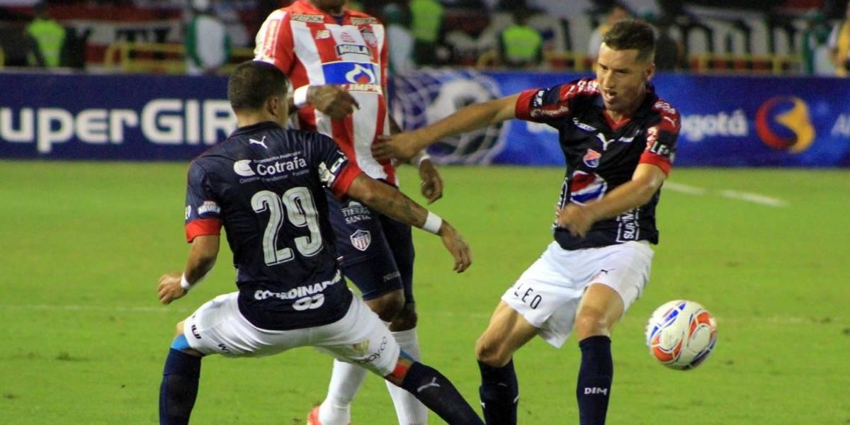Santiago Echeverría fue suspendido del Medellín por dopaje