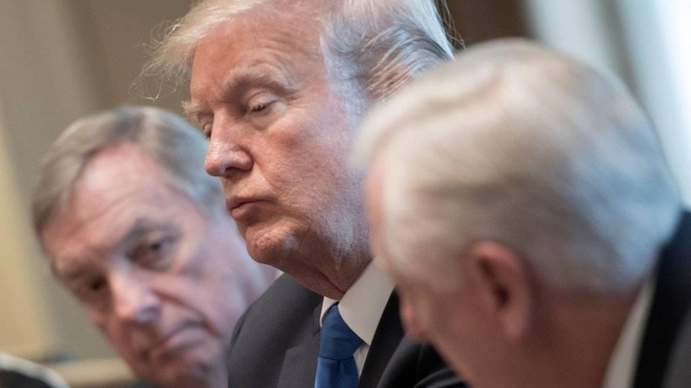 Trump culpa a demócratas por inacción en reforma migratoria — Estados Unidos