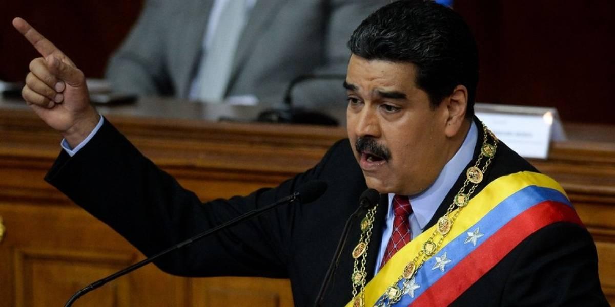 Maduro dice que grupo rebelde desmantelado era financiado desde Colombia