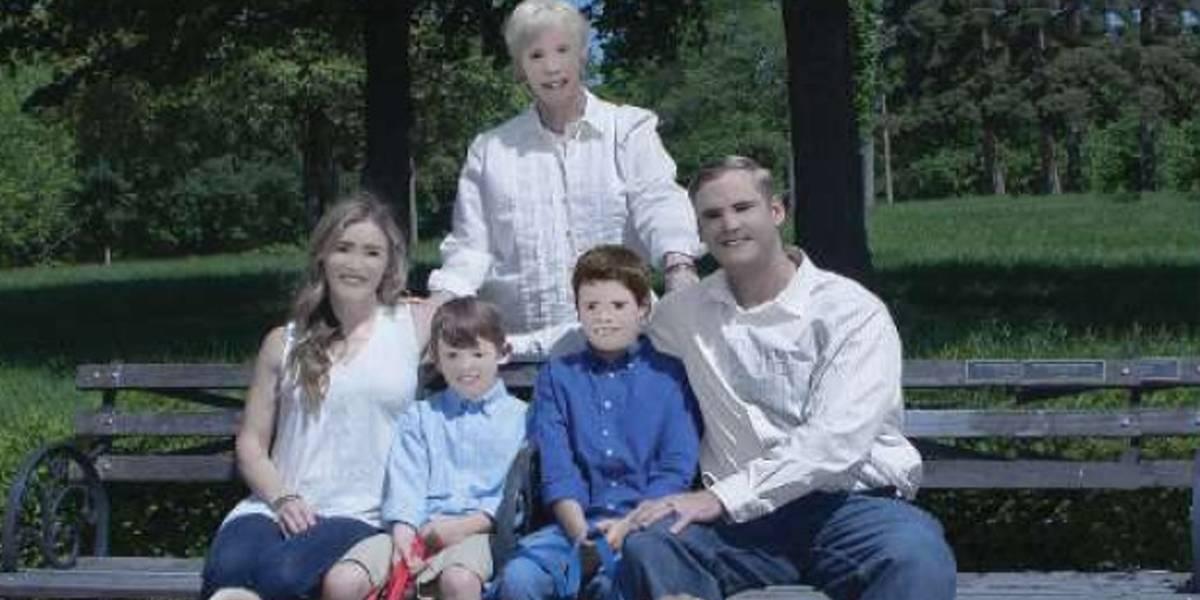 Álbum de família nos Estados Unidos vira piada na internet