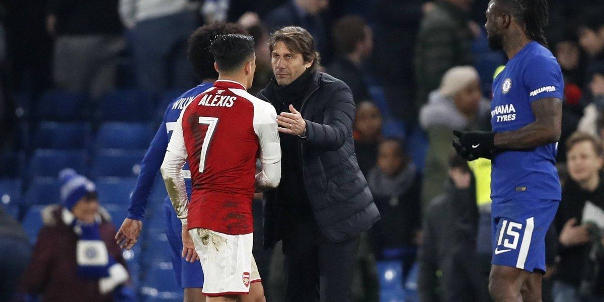 """Parece chiste: en Inglaterra afirman que Chelsea se metió en la """"pelea"""" por Alexis"""