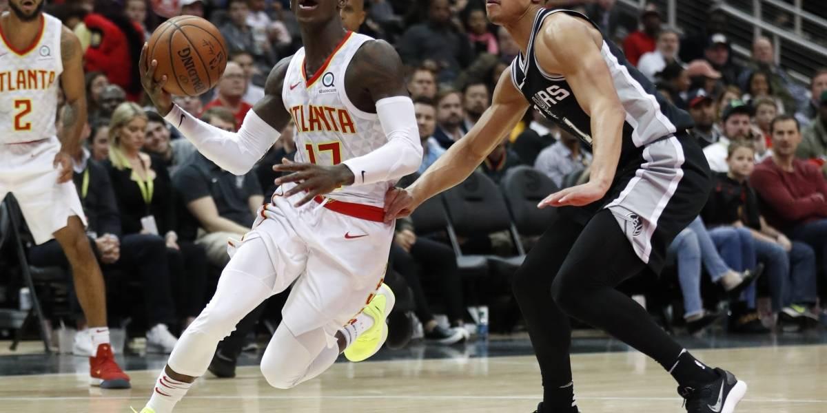 Hawks sorprenden con triunfo sobre los Spurs