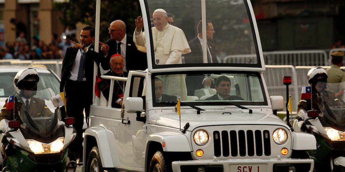 """Prensa argentina nota """"poco entusiasmo"""" y """"apatía"""" en Chile ante visita del Papa"""