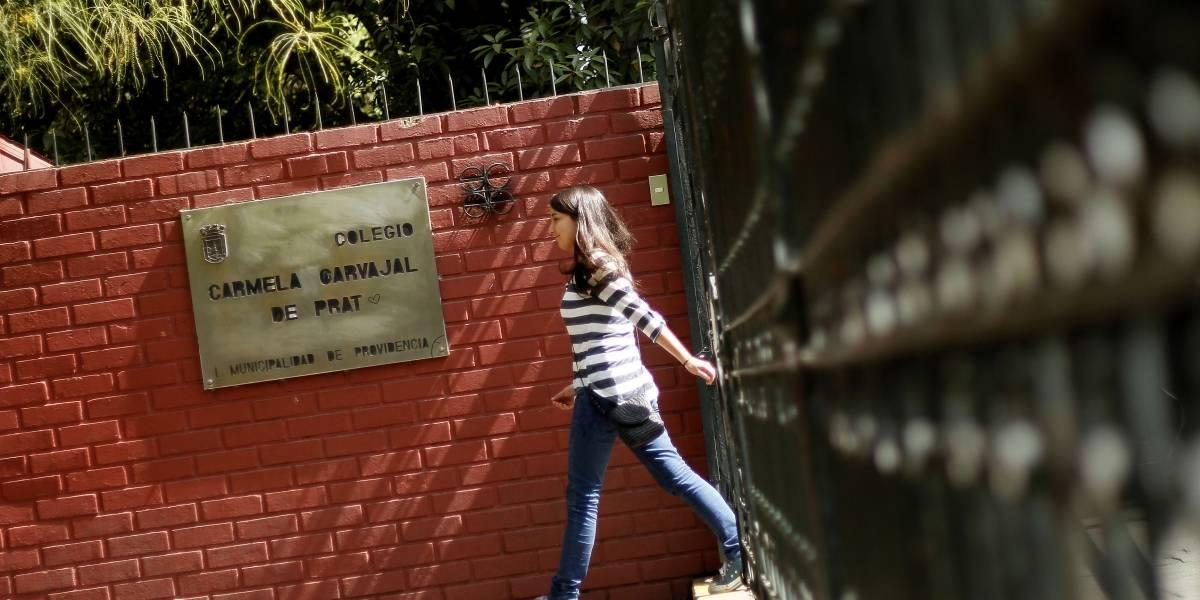 Liceo Carmela Carvajal y otros dos colegios de Providencia se quedarán sin subvención este 2018