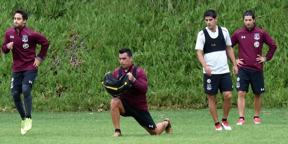 """Pablo Guede piensa en """"dos Colo Colo"""" para afrontar el cargado y duro inicio del 2018"""