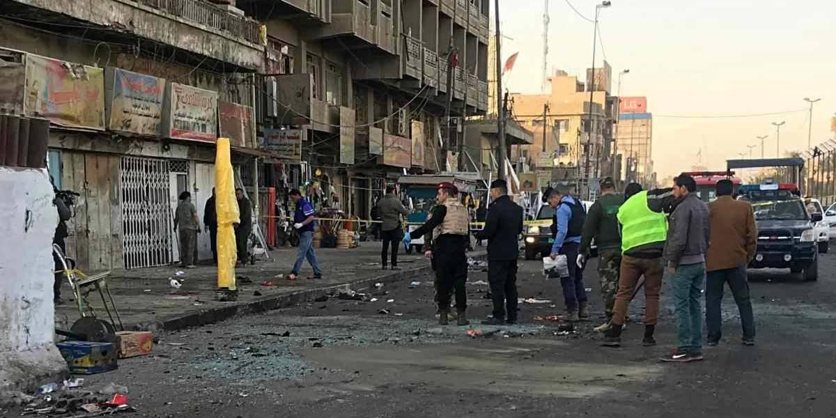 Al menos 38 muertos en un doble ataque suicida en Bagdad
