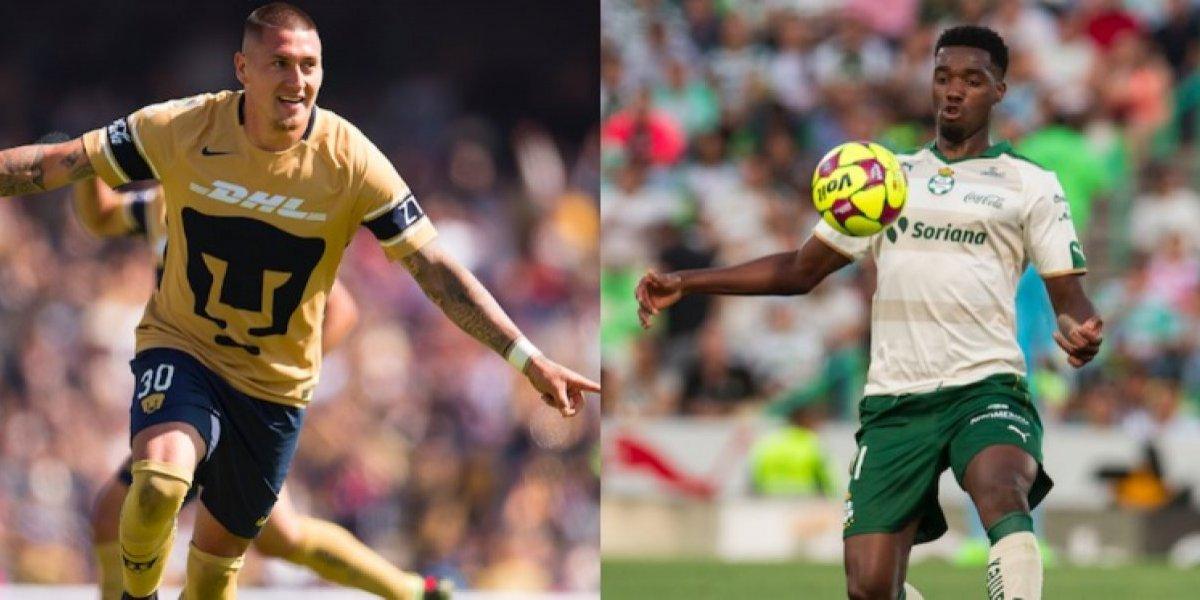 Castillo y Tavares, líderes de goleo del Clausura 2018