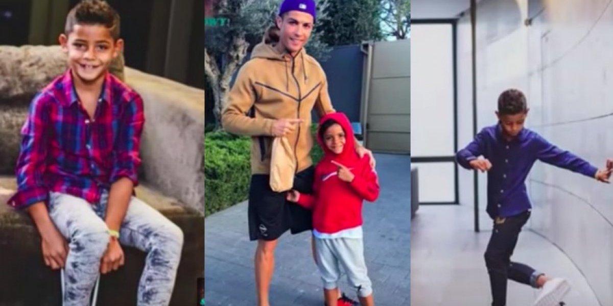 VIDEO: Así la gran vida del hijo de Cristiano Ronaldo