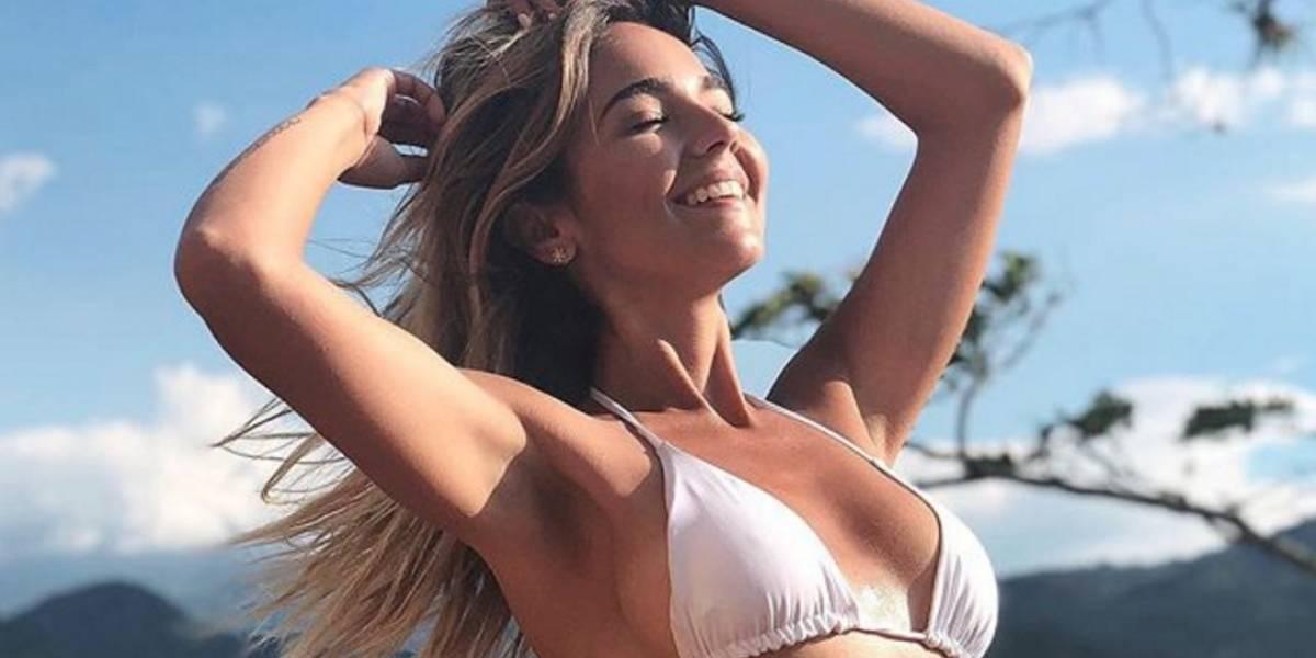¡Se robó todas las miradas! La 'youtuber' Tuti Vargas posó desnuda para Don Juan