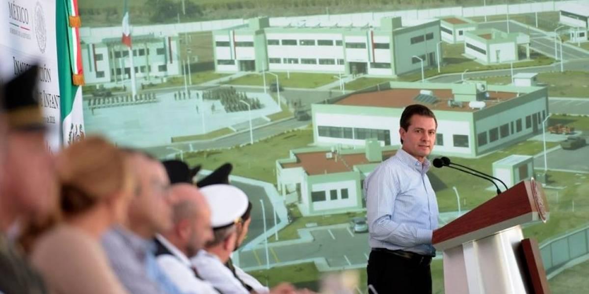 No puede haber perdón ni olvido a delincuentes: Peña Nieto