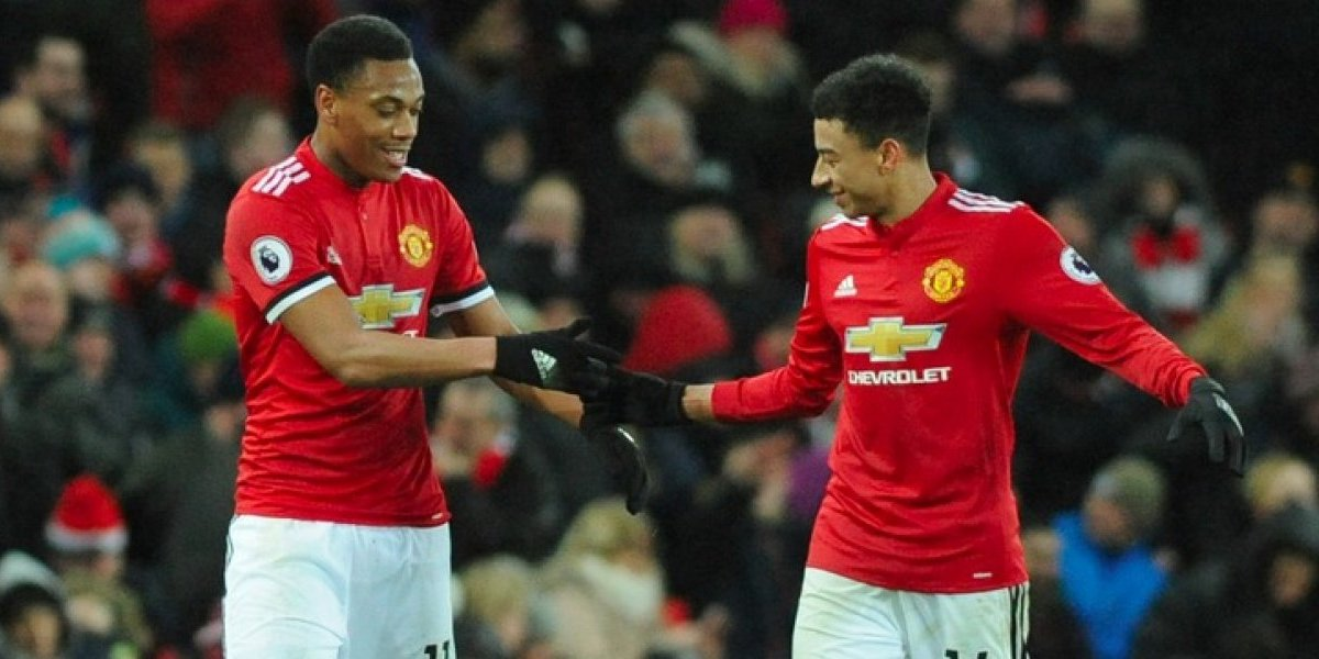 Manchester United derrota al Stoke City en la Premier League