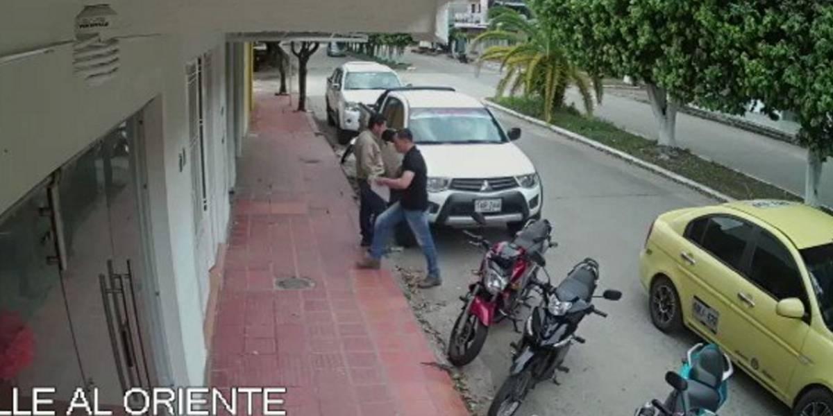 [VIDEO] Así fue el secuestro del contratista de Ecopetrol en Saravena, Arauca