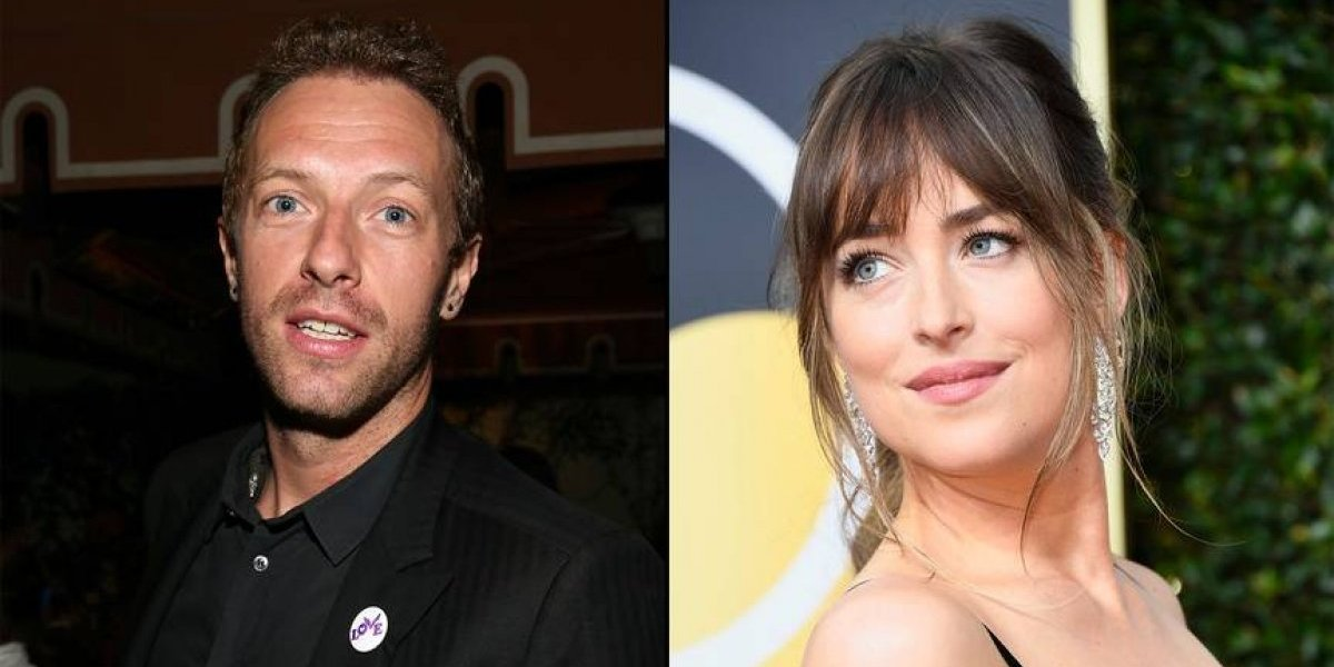 Circula foto que confirma relación entre Dakota Johnson y Chris Martin